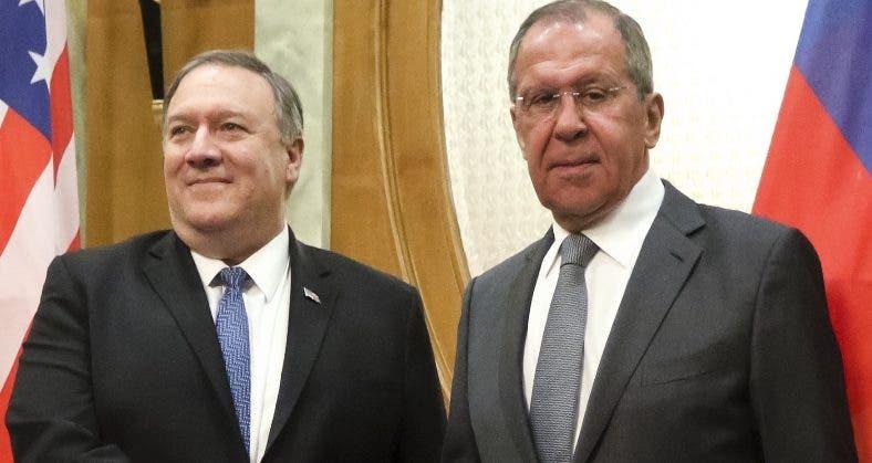 Serguéi Lavrov y Mike Pompeo buscan una armonía.