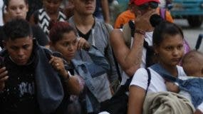 La oleada migratoria de Centroamérica incluye niños.