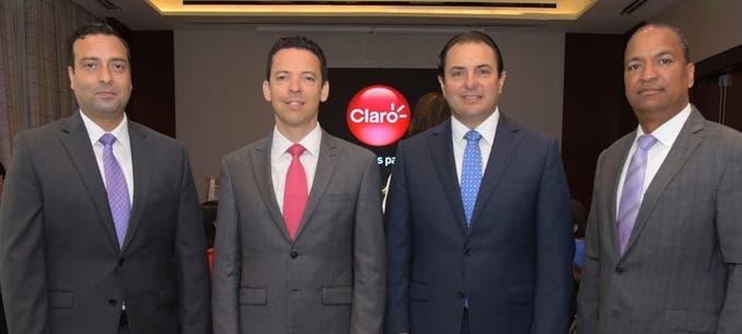 Marcelo García, Jorge Elizondo, Walter Schall y Lorenzo García.