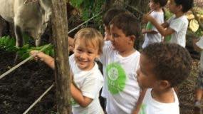 Los niños conocen todo sobre la naturaleza.