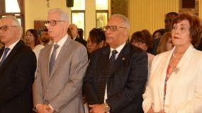 Juan Alfredo de la Cruz, Henry Sahdalá,  Rafael Pérez Modesto y  Nélsida Marmolejos.