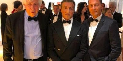 Avi Lerner, Sylvester Stallone  y Fernando Colunga.