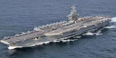 El portaaviones USS Abraham Lincoln   va rumbo al Golfo.