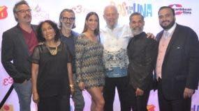 Frank Perozo, Niulka Mota,  José Enrique Pintor, Dalisa Alegría, Freddy Ginebra, Micky Montilla y Antonio.