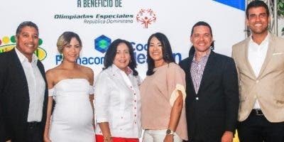 Samuel Núñez, Karla Martín, Ingrid Muñoz, Marlenny Peña, Huáscar Beltré y  Modesto Reyes.