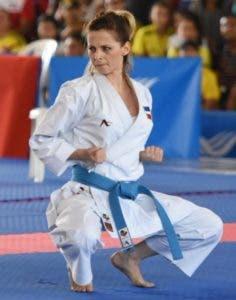 María Dimitrova no desmaya en su preparación para alcanzar su meta en los Juegos Panamericanos de Lima, Perú.