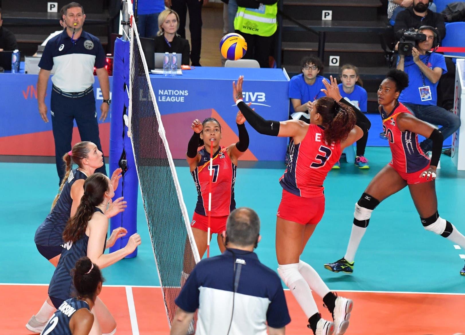 República Dominicana  obtiene triunfo histórico ante EE. UU. en Liga de Naciones