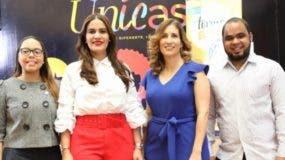 Melissa Hernández, Michelle Ortiz López, Rosario Aróstegui y Alan Fernández.