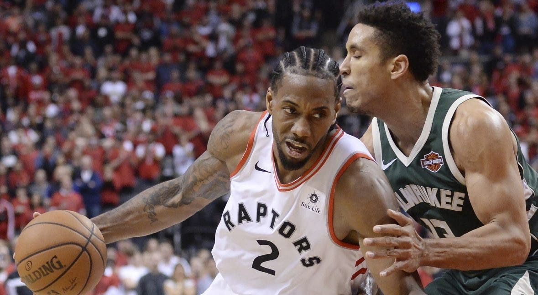 Kawhi Leonard   transformó a los Raptors desde su llegada al equipo.  AP