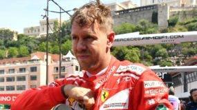 El piloto Sebastian Vettel, perdió las esperanzas.