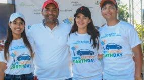 Blenda Pimentel, Charles Sánchez, Brenda Burgos y Abraham Suárez.