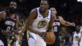 Kevin Durant es   baja bastante importante Warriors .  AP