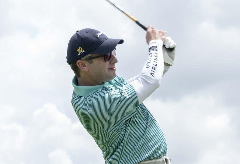 Jaime Mota, uno de los golfistas destacados.