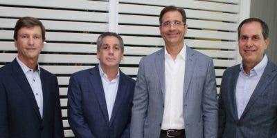Alejandro Logroño, Fernando Hazoury, Juan Carlos Rodríguez y Eduardo Valdez.