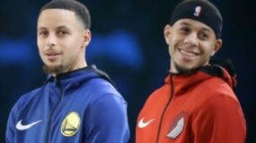 Hermanos Stephen y Seth   Curry hacen historia  NBA.ap