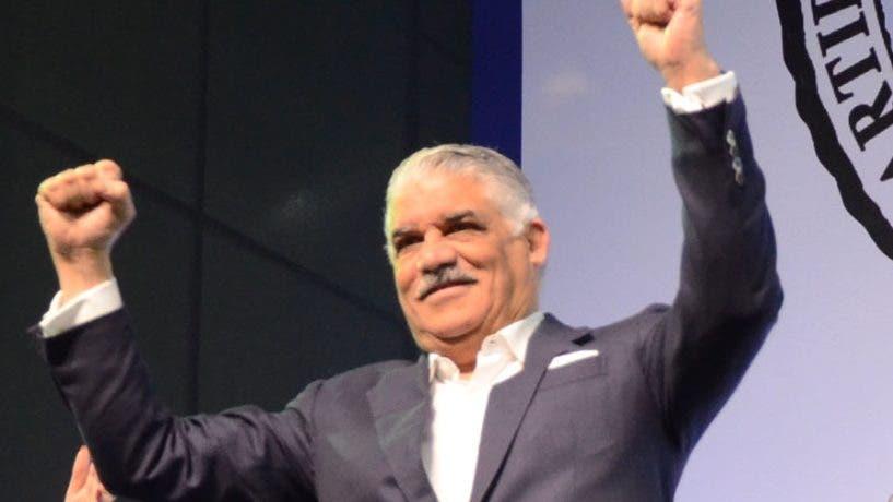 Miguel Vargas Maldonado, presidente del PRD.  José de León