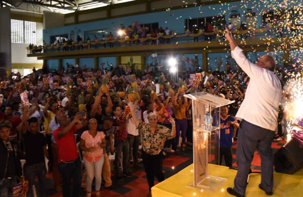 Ayer se realizaron actividades reeleccionistas en Ocoa, Monte Plata y San Pedro de Macorís.