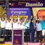 El entorno del presidente Danilo Medina ha  movilizado  sus fuerzas para demostrar  poder en  todas las provincias.