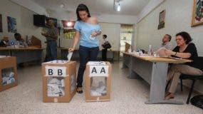 Las reservas representan 823 cargos electivos en todos los niveles   en las elecciones de 2020.  Archivo