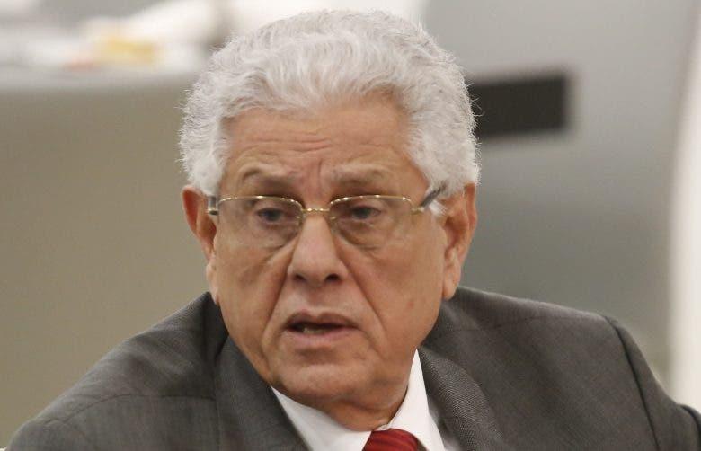 Roberto Saladín, miembro  de la Junta Central.  archivo