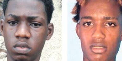 Dos de los cinco  implicados en el rapto  de cuatro personas.