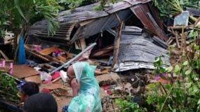Vivienda quedó totalmente destruida.   fuente externa.