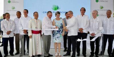 """El presidente Danilo Medina asistió hoy a la presentación formal de """"Ciudad Caracolí""""."""