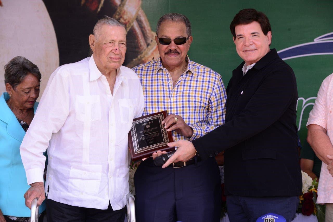 Federico Velázquez, Juan Marichal y Julio Virgilio Brache Álvarez.