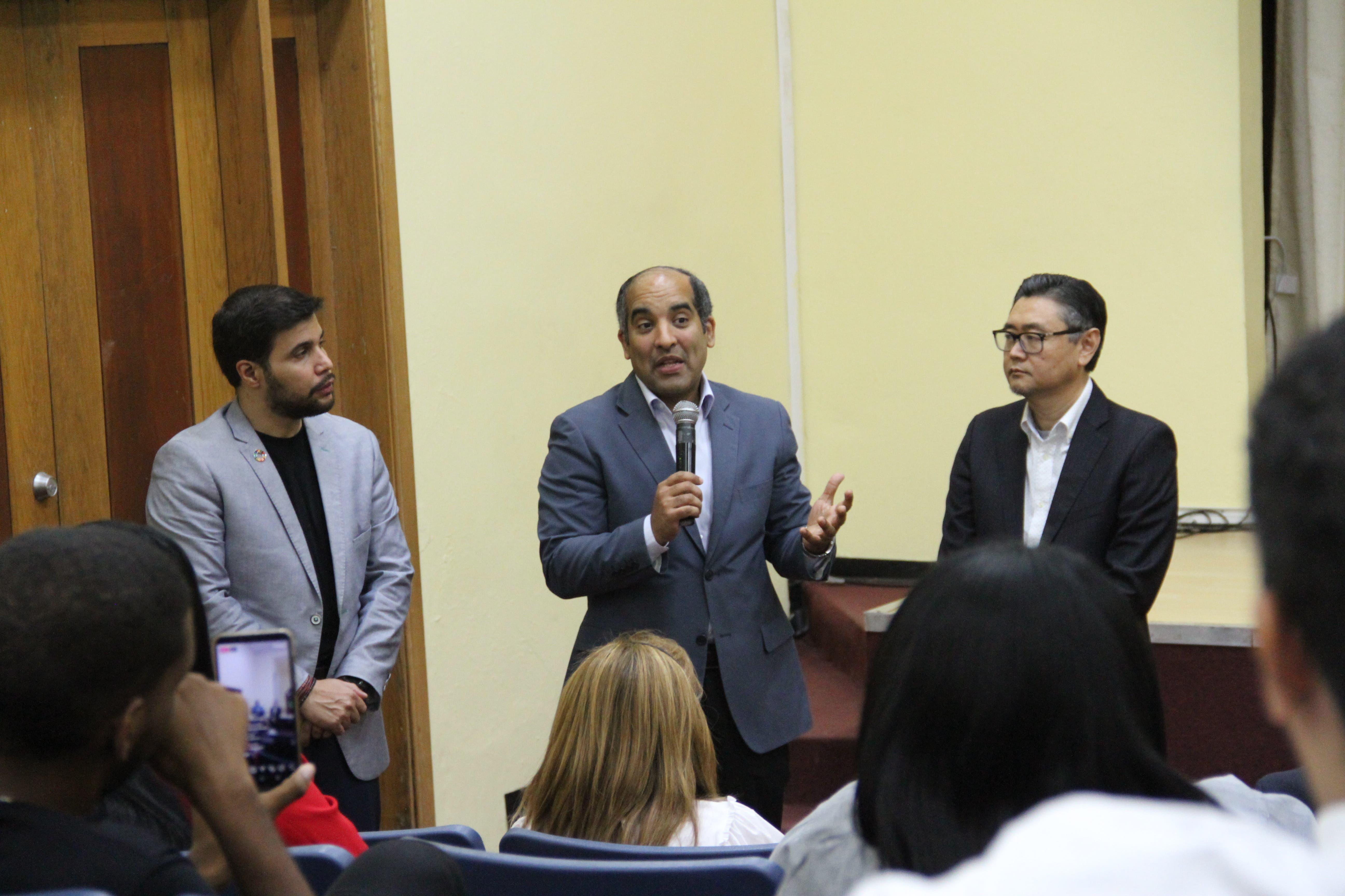 El acto estuvo encabezado por  José Armando Tavárez, Presidente de la Cámara TIC quien en sus palabras destacó que la Red TIC tiene como objetivo potenciar la creatividad, competitividad y la innovación del sector TIC a través de la inteligencia colaborativa de sus miembros.