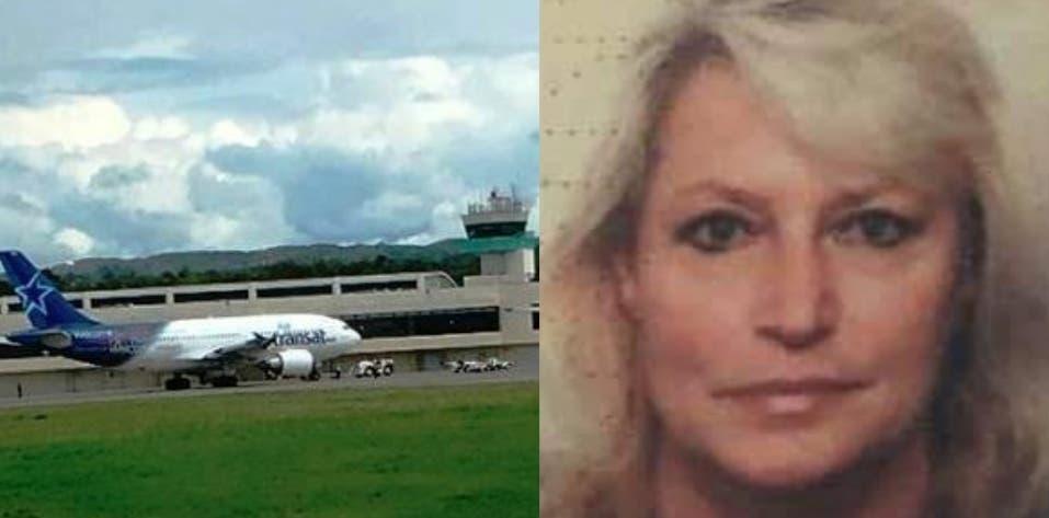Mujer canadiense fallece a bordo de un vuelo comercial