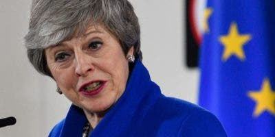 Theresa May. primera ministra británica,