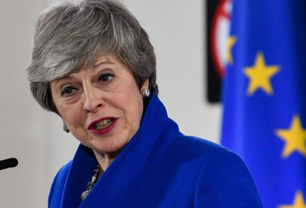 Theresa May. primera ministra británica,