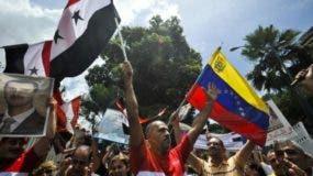 """El presidente sirio ha asegurado que lo que ocurre en Venezuela es """"similar"""" a lo que sucede en Siria."""