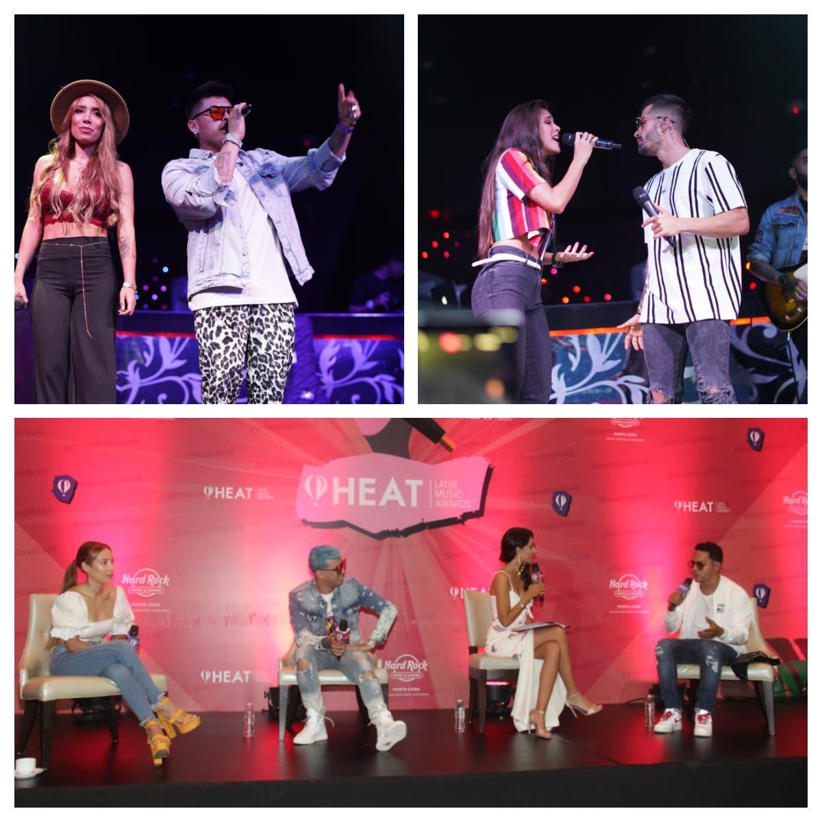 Premios Heat inunda de artistas el Hard Rock Hotel Punta Cana