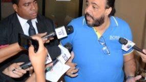 Sidney Matías Pérez niega que haya amenazado a la periodista Teresa Casado.