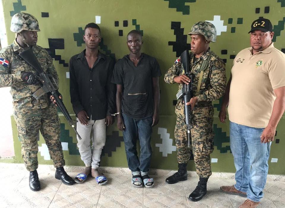 Ejército captura en Jimaní dos prófugos haitianos acusados de varios asesinatos