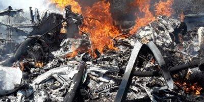 La aeronave se estrelló a las 10:30 de la mañana a 15 milla al oeste de Puerto Plata.
