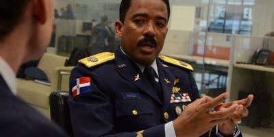 El general de brigada  Aracenis Castillo de la Cruz .  JOSE DE LEON/archivo.
