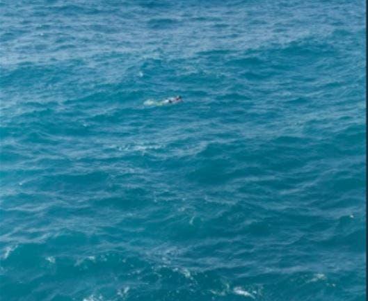 Armada recupera cuerpo de un joven de las aguas del mar Caribe
