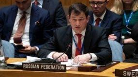 """Dmitry Polyanskiy: Rusia no tiene """"ninguna razón"""" para atender el pedido de Trump de salir de Venezuela."""