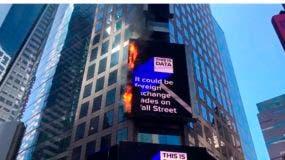 Billboard Fire