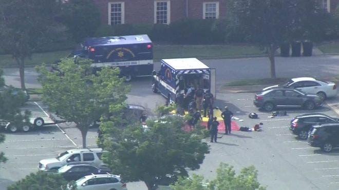 El tiroteo tuvo lugar en un edificio de oficinas en Virgnia Beach.
