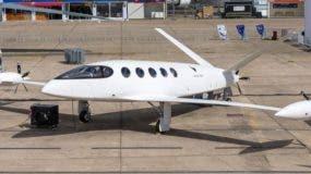 Alice, el modelo de avión eléctrico de Eviation, fue toda una sensación en el Paris Airshow.