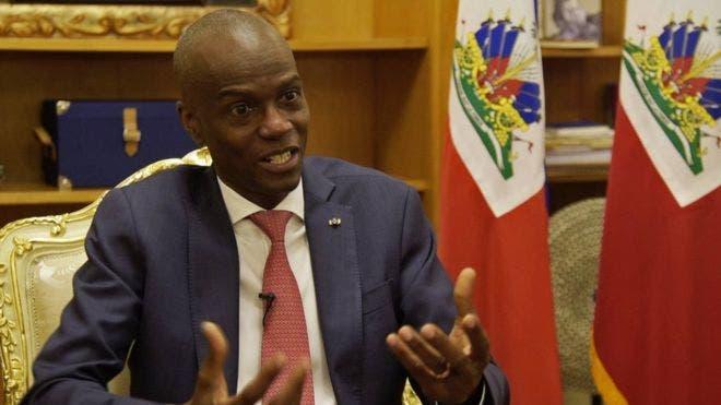 El Presidente de Haití, Jovenel Moïse.