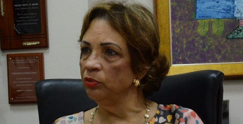 Angélica Benítez, presidenta de la Fundación. José de León
