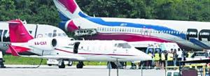 Ortiz fue trasladado hacia los Estados Unidos en una aeronave de los Medias Rojas.
