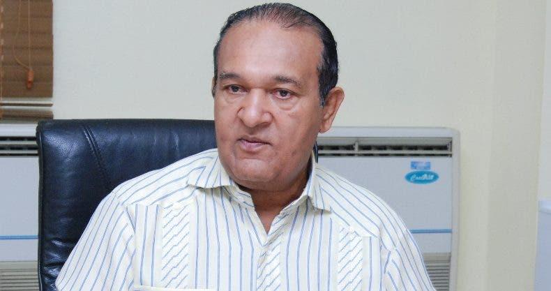 Antonio Marte, presidente de Conatra.  FOTO ARCHIVO