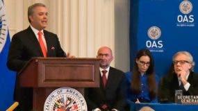 Iván Duque es el anfitrión de la 49 Asamblea de la OEA.