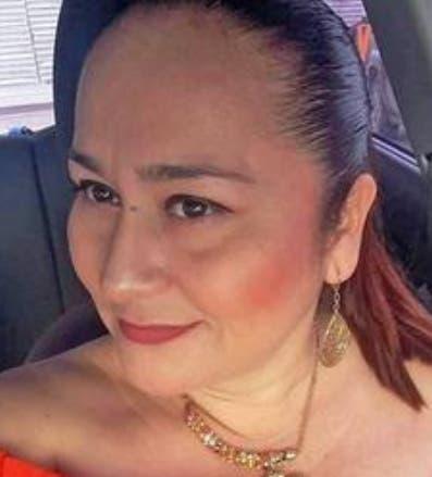 Periodista Norma Sarabia.