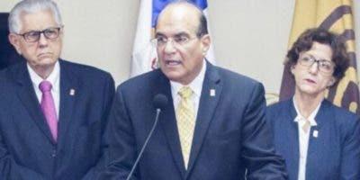 Miembros del pleno de la Junta Central Electoral.